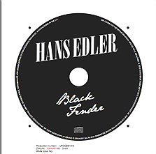 Black Fender CD skiva
